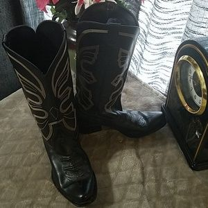 New Port News Genuine leather western style boots